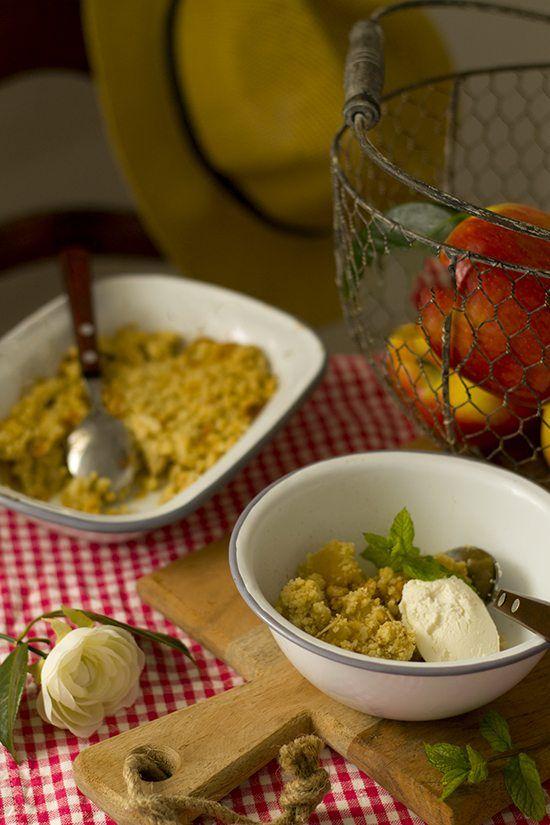 Tarta Crumble de manzana {Receta fácil} | Megasilvita | Bloglovin'