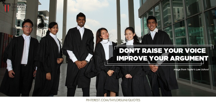 Quote of the day from Taylor's Law School! Like and share if you agree! Don't our law students look stunning? :)    Quote of the day is by Desmond Tutu! :)