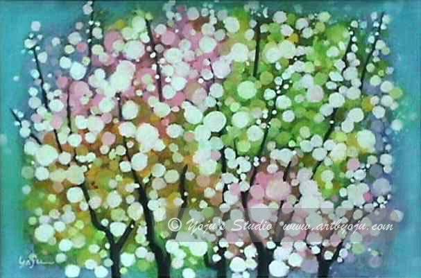 Painting Watercolor On Rice Paper | Mixed media on rice paper - 10.5 ...