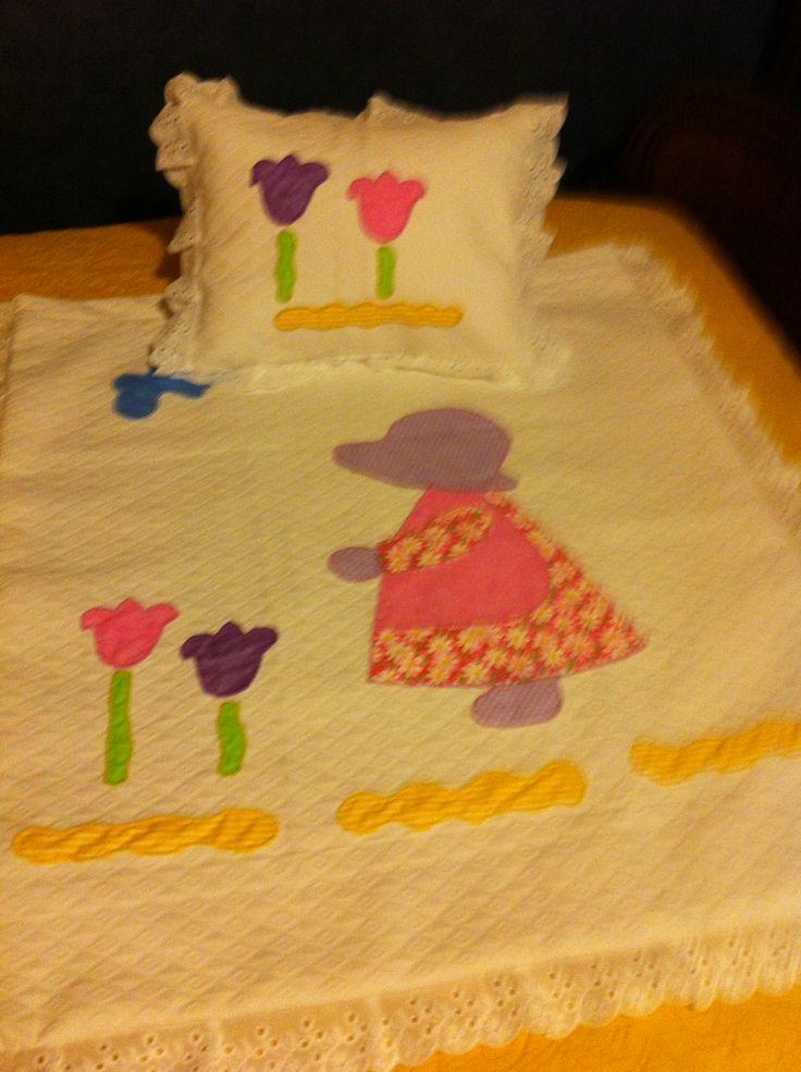 Cobertor y cojín