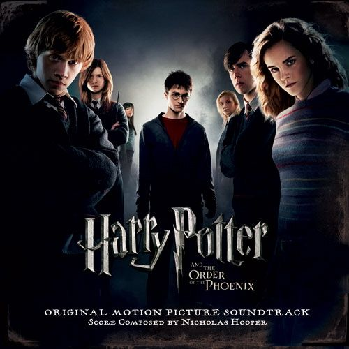 Harry Potter and the Order of the Phoenix (2007) Soundtrack Cover