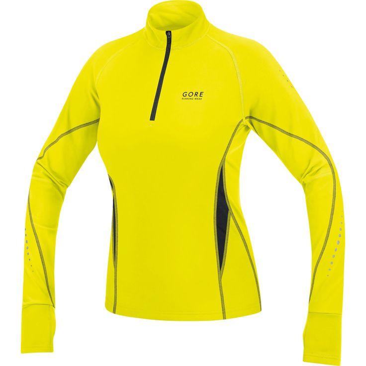 Wiggle Nederland | Gore Running Wear Ladies Mythos Thermo Shirt hardloopshirts met lange mouwen