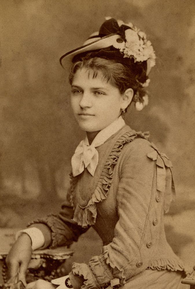 Jeune femme. Hongrie.