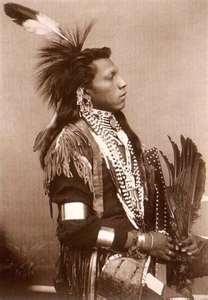 Omaha Indian Chief 1875