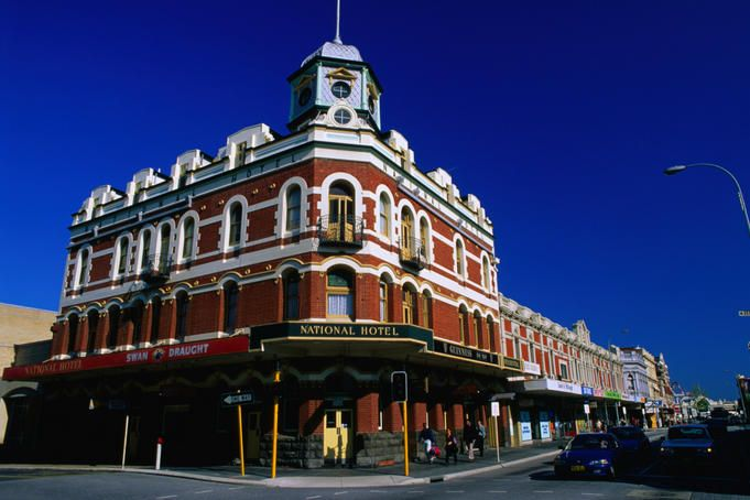"""The National Hotel in Fremantle, Western Australia such hotels were mentioned in 'The Con"""". http://www.amazon.com/Gael-McCarte/dp/1935434535/ref=sr_1_1?s=books=UTF8=1295287982=1-1"""
