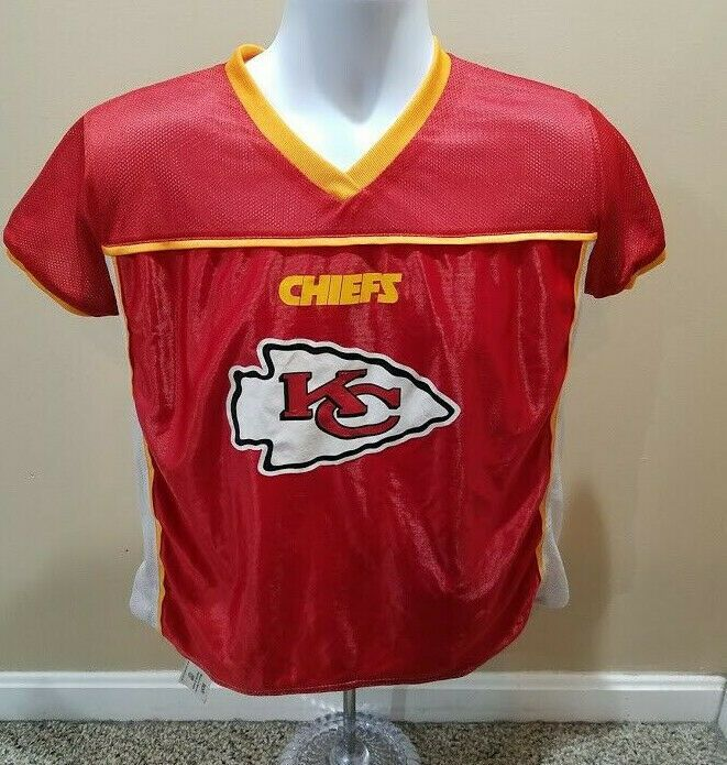 Kansas City Chiefs Nfl Flag Football Jersey Size Youth Xl Patrick