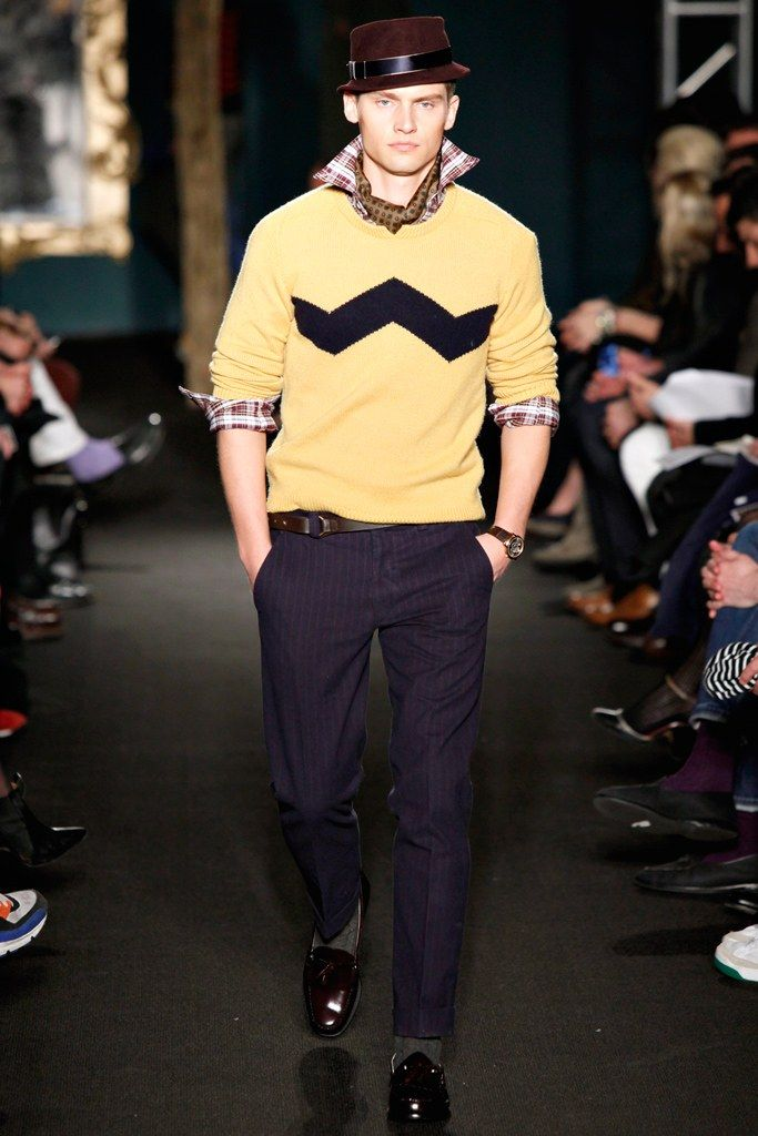 Michael Bastian Fall 2012 Menswear Collection Photos - Vogue