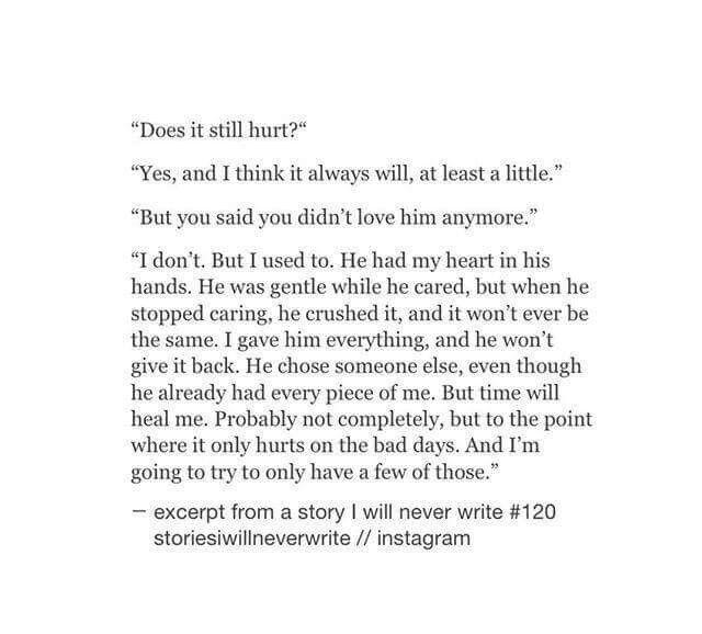 Sad Short Stories