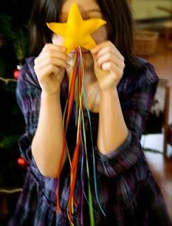 Felt Shooting Stars Tutorial -rainbow: Shooting Stars, Tutorials, Felt Shooting, Kids, Winter Craft, Craft Ideas, Crafts