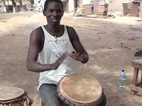 African Drumming Lesson | Kuku Djembe Solos