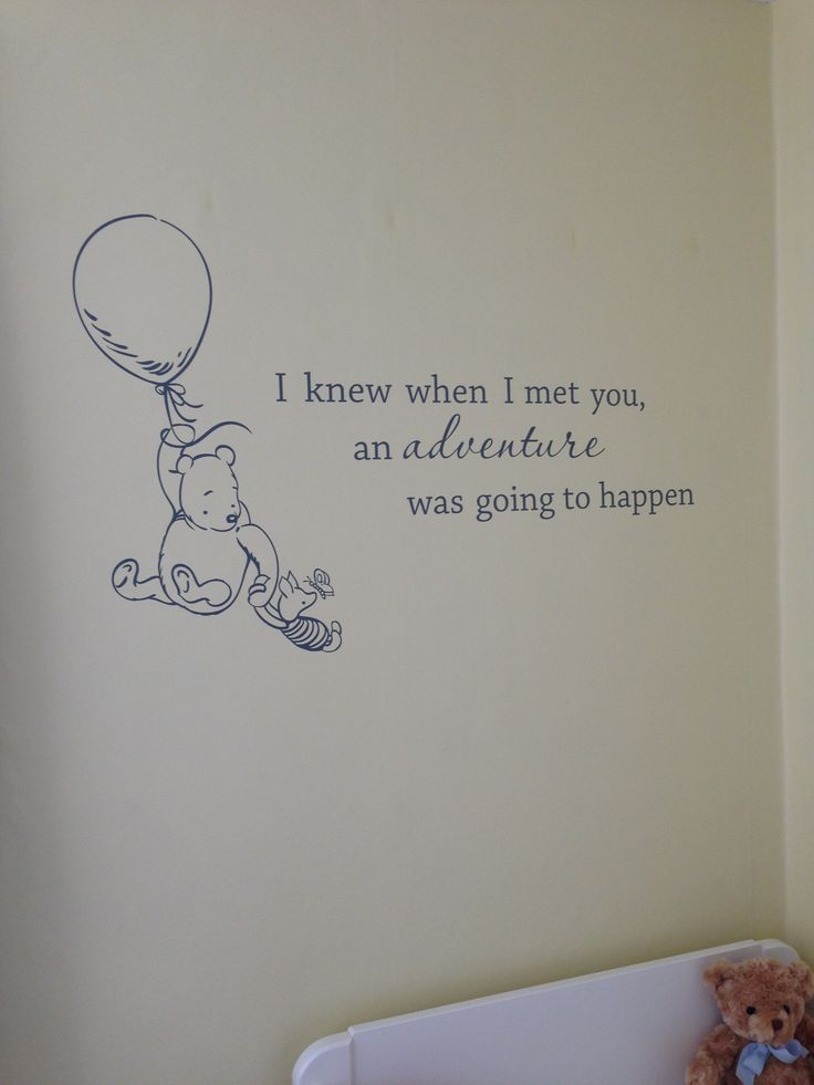 Baby Wall Decals · Grey And Yellow Nursery; Classic Winnie The Pooh ... Part 83
