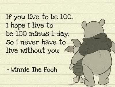 : Inspiration, Pooh Quotes, Sweet, 100 Minus, Pooh Bear, Winniethepooh, Winnie The Pooh, Favorite Quotes