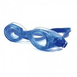 Swimvision II Gogle pływackie z korekcją Swimvision II to wykonane z jednego kawałka gumy okulary z wkładką optyczną. Raz włożone dopasowują się i idealnie chronią przed przeciekaniem. Zaleca się zakup specjalnego płynu zabezpieczającemu przed parowaniem bowiem szkła w tych okularach pływackich pozbawione są warstwy anti fog.