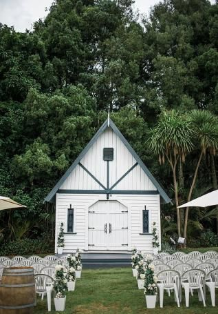 Auckland New Zealand Outdoor Wedding Chapel By CRyan Flynn Photography Featured On
