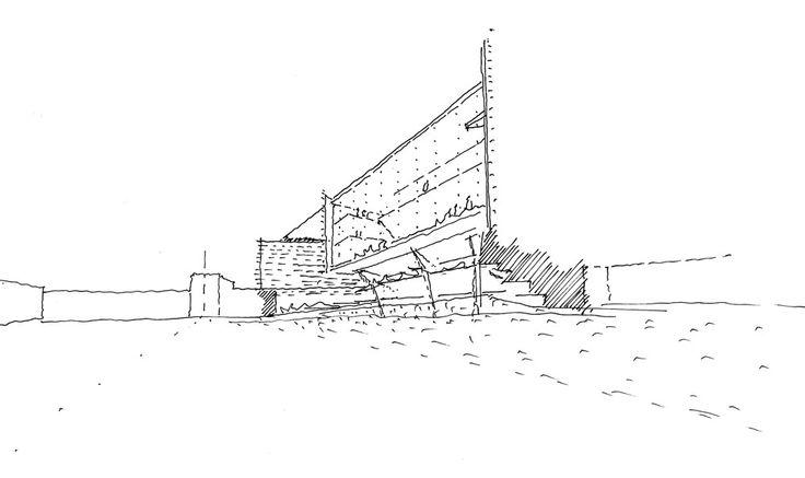 UQBS Design Sketch | Richard Kirk Architect