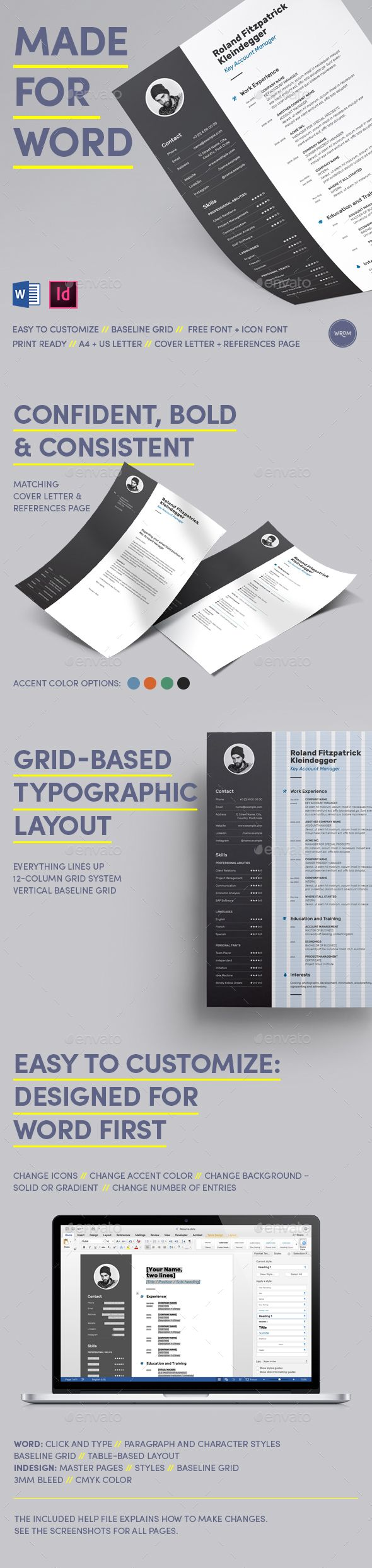 best images about resume resume template bold resume made for word
