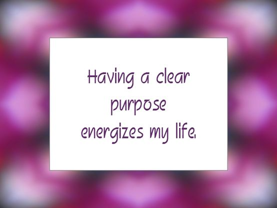 Daily Affirmation for October 19, 2013