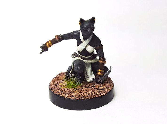 Catfolk Monk Miniature Check out our tabaxi monk selection for the very best in unique or custom, handmade pieces from our role playing miniatures shops. catfolk monk miniature