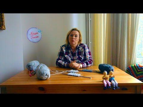 Nurgün Tezcan   Örgü Teknikleri Bölüm 1: Hakiki,Yalancı ve Cilveli Selanik Yapımı - YouTube