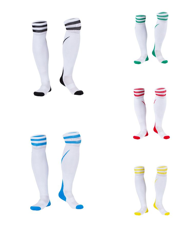 [Visit to Buy] Women Cotton Soccer Sock High Quality Sport Socks Cycling Hosiery 2017 New Knee High Support Stocking #Advertisement