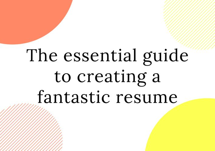 Looking to impress hiring managers? Look no further than this guide to creating the perfect resume, chock full of tips and tricks. | THE ESSENTIAL GUIDE TO CREATING A FANTASTIC RESUME | HONEYBEE JOYOUS