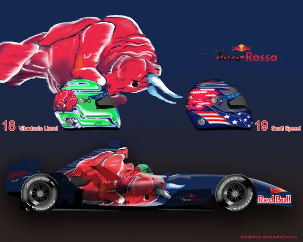 Toro Rosso STR2 by ShinjiRHCP.deviantart.com on @deviantART