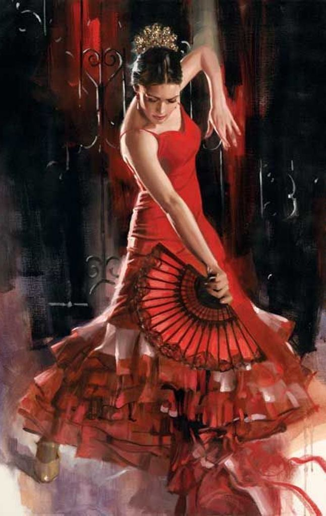 17 Best images about art on Pinterest | Oil on canvas, Flamenco ...