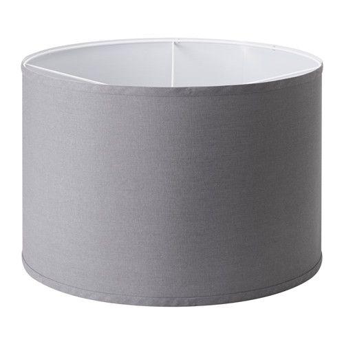 RULLAN Shade IKEA Fabric shade gives a diffused and decorative light.