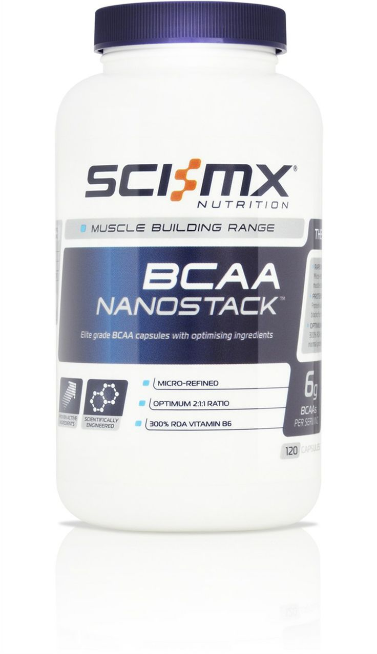 BCAA NANOSTACK™ - Precision 2:1:1 Ratio - Boosts Protein Synthesis - Aids muscle recovery http://www.sci-mx.co.uk/muscle-building/amino-acids/bcaa-nanostack.html