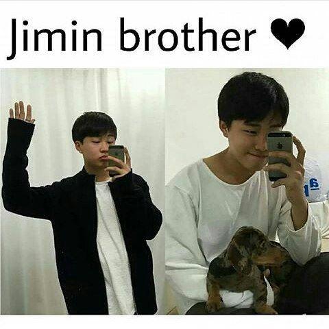 (Park Jihyun) ,Jumin\u0027s brother is as cute as him
