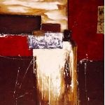Abstract Oil Painting by Artist