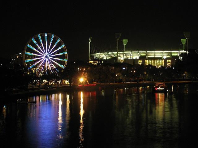 #MCG #FerrisWheel #Melbourne