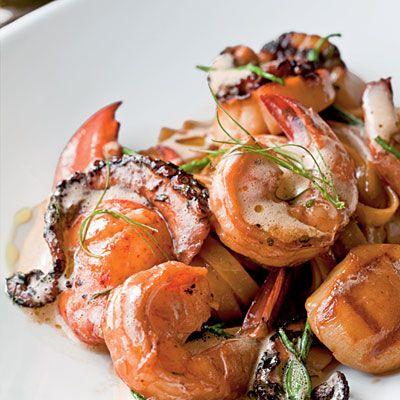 Seafood Pasta | Food & Drink | Pinterest