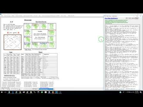 How to cast a KP horoscope using FREE software KP STAR ONE