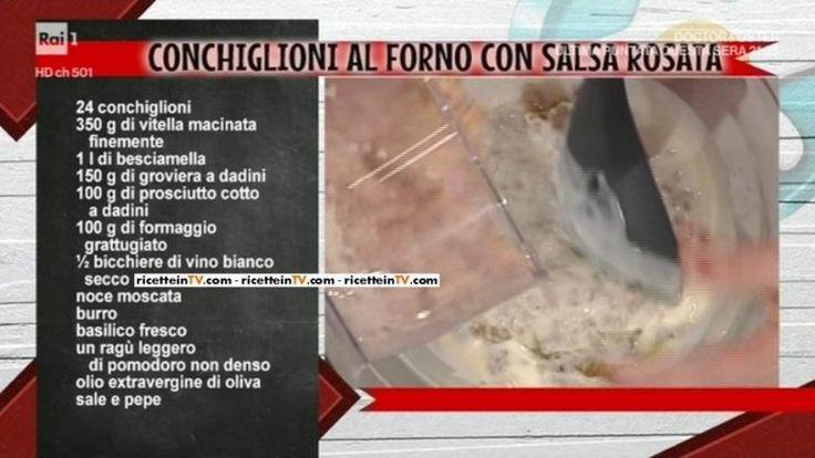 conchiglioni al forno con salsa rosata di Anna Moroni