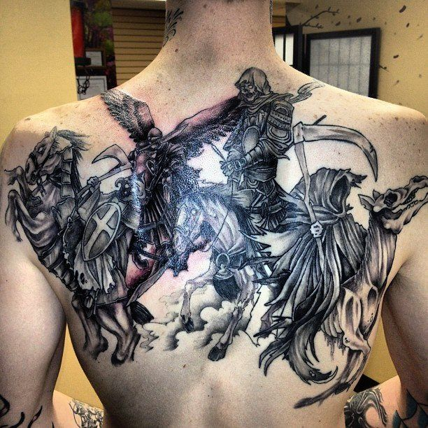 the four horsemen of the apocalypse tattoo - Google Search