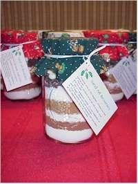 Many mason jar gift mix recipes
