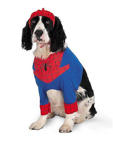Spiderman Pet Costume - Spencer's