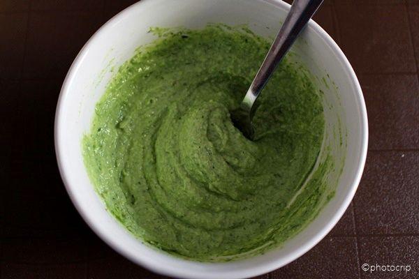 La zucca capricciosa: Salsa all'erba cipollina e robiola