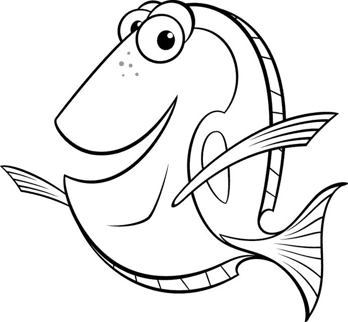 Kids Love To Read About Nemo And How Giving Them Printable Finding Coloring Pages