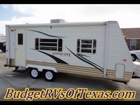 2006 21ft Conquest Bumper Pull Travel Trailer A Great Half Ton Towable Priced For The Budget Conscious RVer At Only 999500 It Wont Be Here