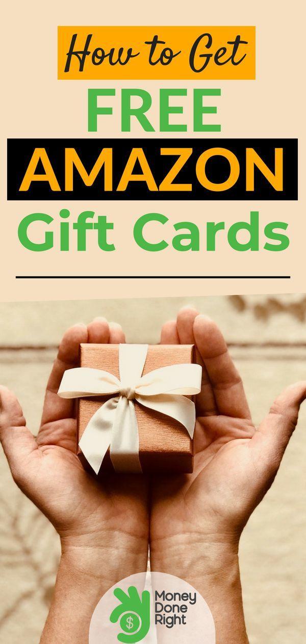 Top 4 Ways To Earn Free Amazon Gift Cards Amazon Gift Card Free Free Amazon Products Amazon Gifts