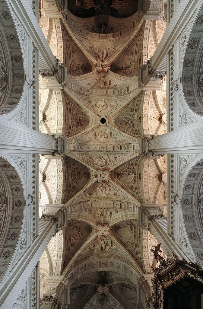 I love church ceilings  St. Andreas, Düsseldorf, Germany