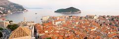 #panorama #Fototapeta #dekorujemysciany #dekoracje #wnetrza #Dubrovnik #Chorwacja #Croaita #City #Island #Dalmacja Piękny panoramiczny widok na #Morze