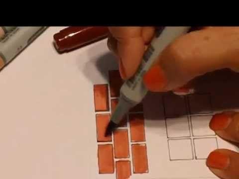 Ilustración de Ladrillo-Brick Rendering for Interior Design - YouTube brick & tile