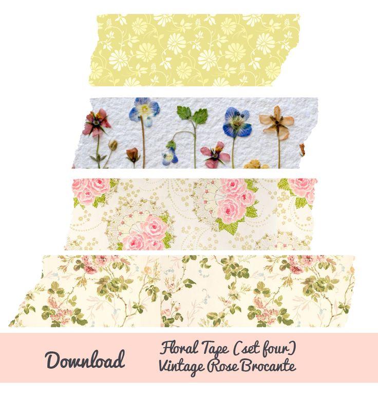 Digital Floral Tape - Free download