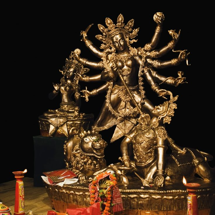 ANDREW JACKSON, CECIL RHODES AND THE HINDU GODDESS OF CREATION? It might be 2016, but there's still a war being waged between a goddess and a demon.