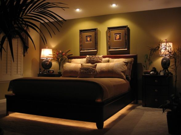 Romantic bedroom ideas hgtv master bedroom dreaming for Romantic master bedroom designs