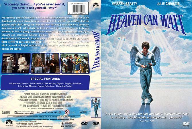 Heaven Can Wait Dvd Custom Cover Dvd Cover Design Custom Dvd Dvd Covers