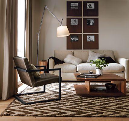 Lira Lounge Chair In Portofino Leather